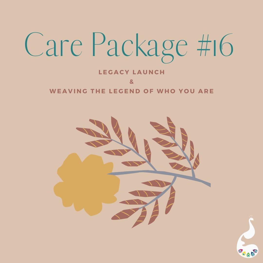 Care Packages- Legacy Launch & Legend Writing Activity
