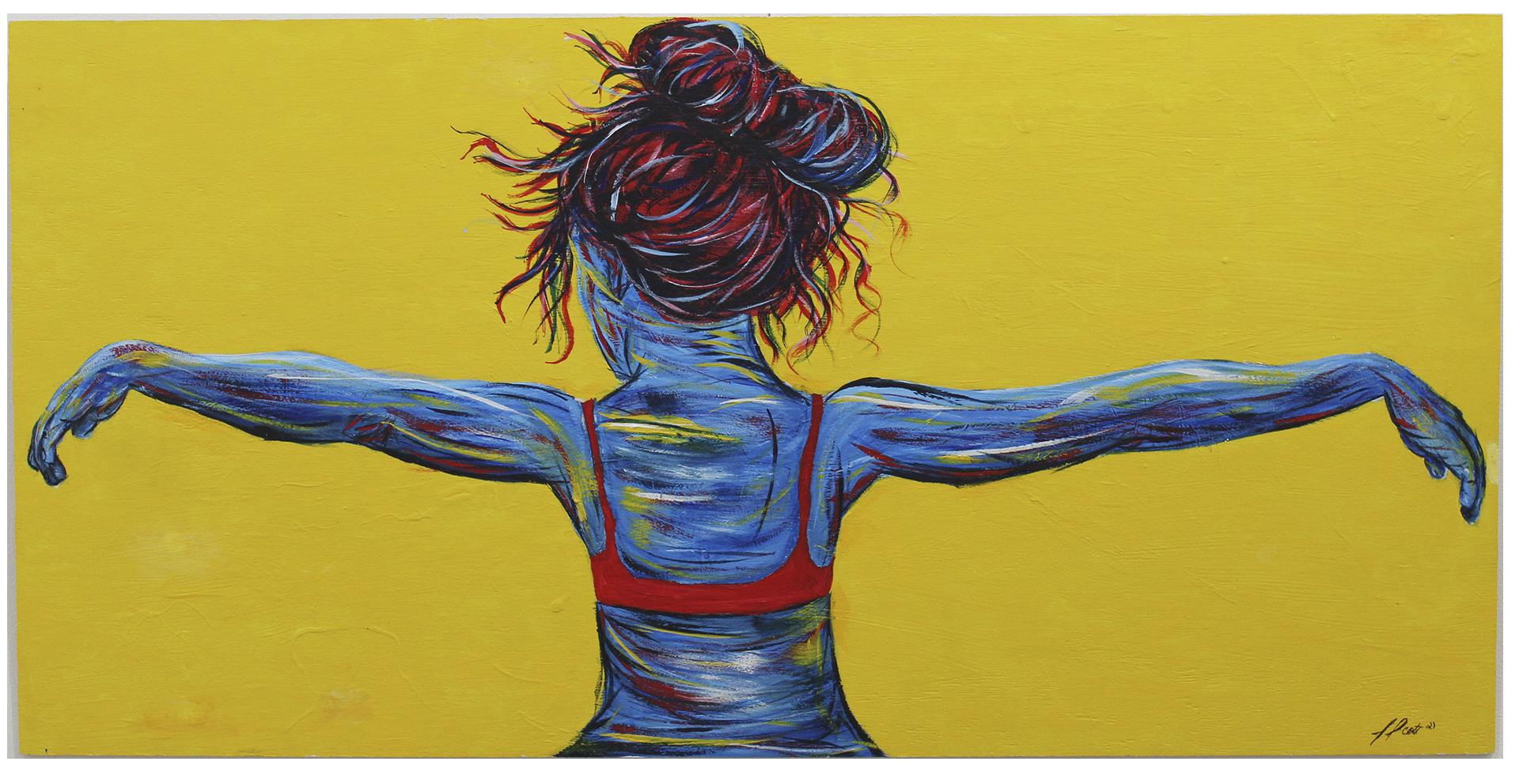 Recapturing Freedom 1 - acrylic paint